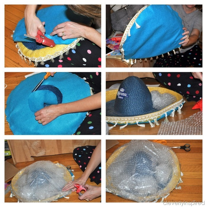 Jellyfish Costume DIY  DIY Jellyfish Halloween Costume Cleverly Inspired