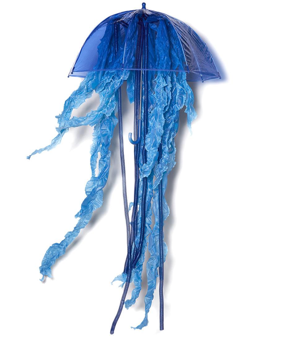Jellyfish Costume DIY  DIY Jellyfish Costume Group Halloween Costumes
