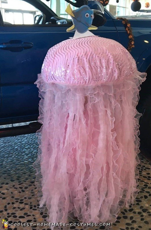 Jellyfish Costume DIY  Stunning Homemade Jellyfish Costume