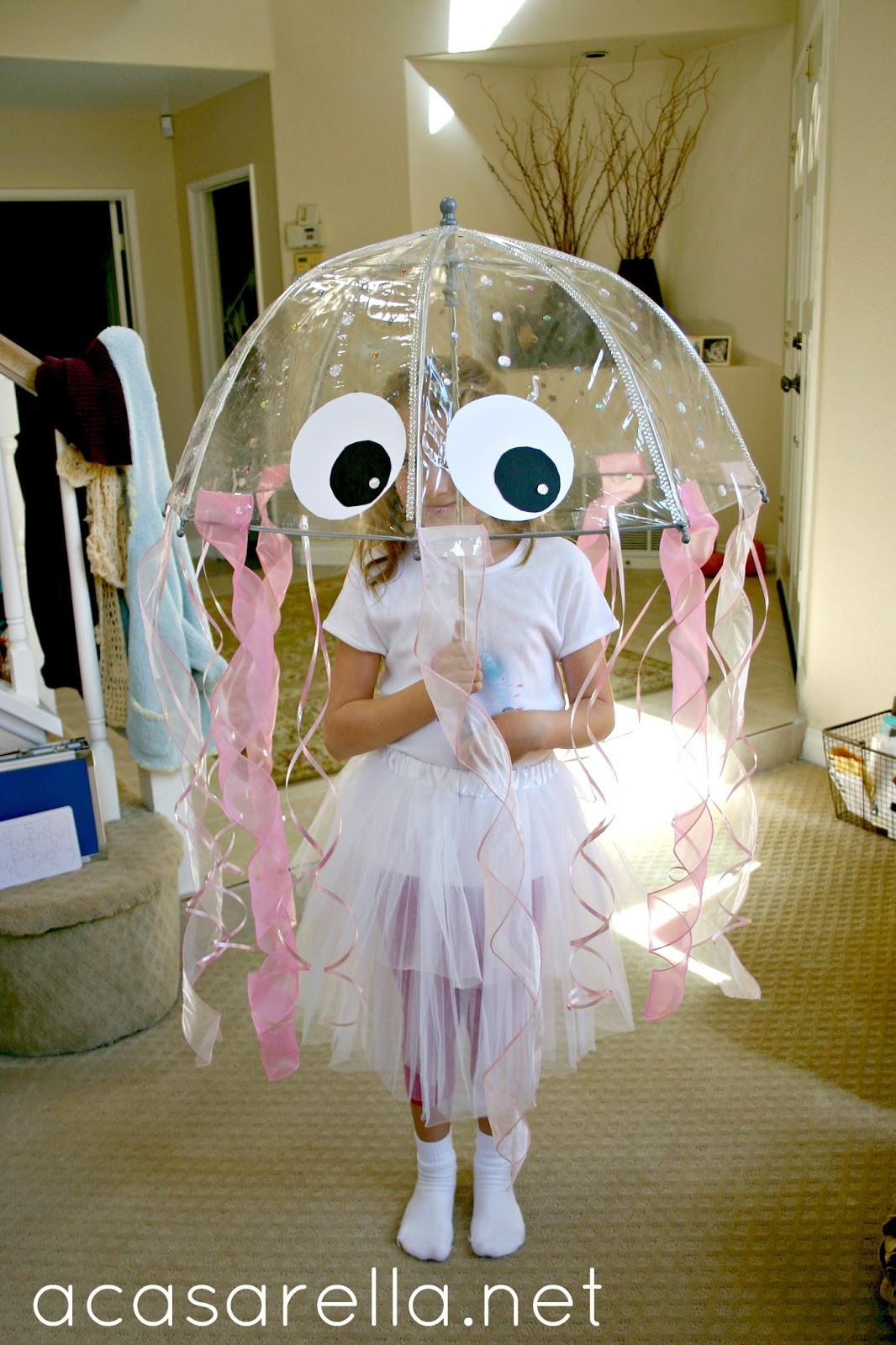 Jellyfish Costume DIY  DIY Jellyfish Costume