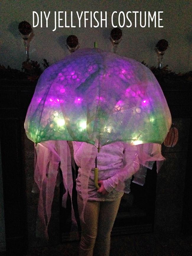 Jellyfish Costume DIY  DIY Easy Jellyfish Costume Tutorial