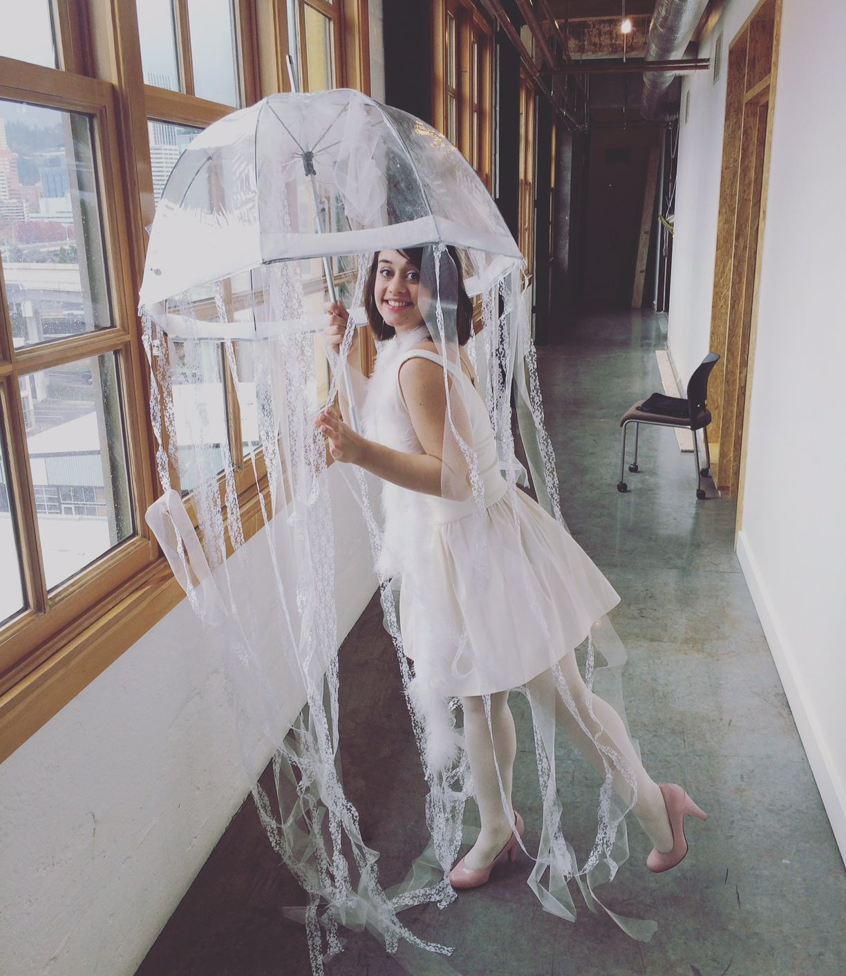 Jellyfish Costume DIY  LINDSTYLEFILES How to Make a Jellyfish Costume in 6 Steps