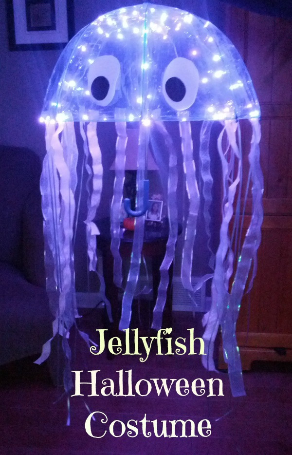 Jellyfish Costume DIY  Amazing DIY Jellyfish Costume Almost The Real Thing