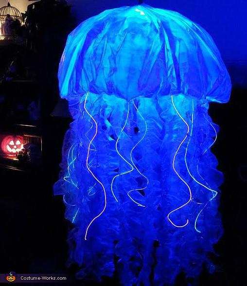 Jellyfish Costume DIY  Jellyfish Costume DIY