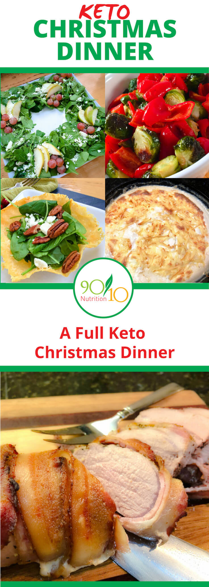 Keto Christmas Dinner  Keto Christmas Dinner Menu Clean Eating 90 10 Nutrition