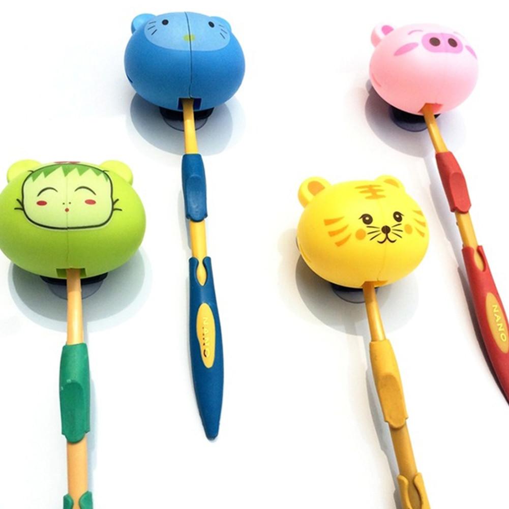 Kids Bathroom Set  Suction Cup Toothbrush Holder Bathroom Accessories Set