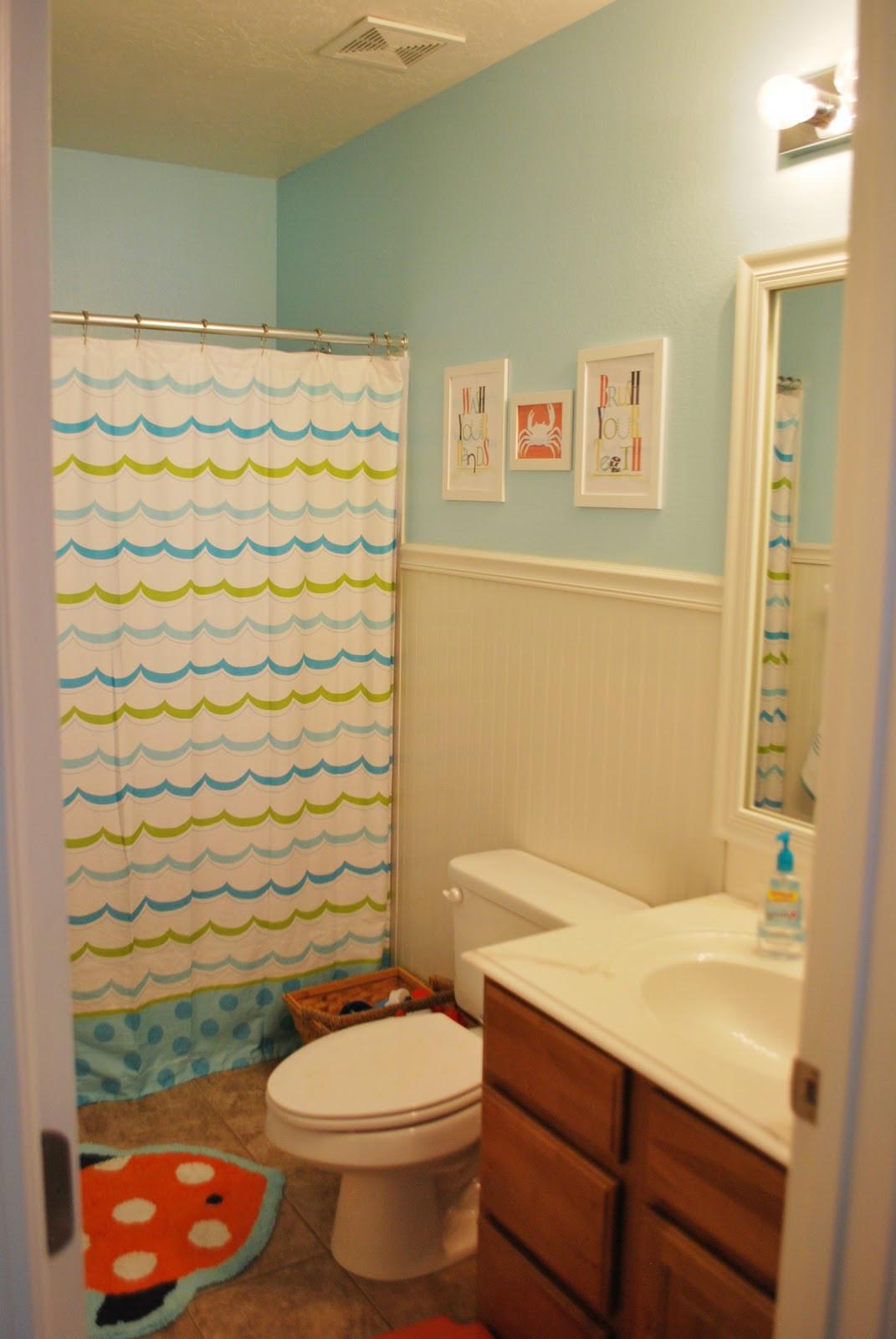 Kids Bathroom Set  Adorable Kids Bathroom Makeover by Loving Your Space