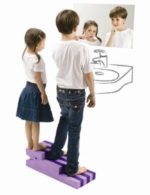 Kids Bathroom Stool  Kids Step Stool for Bathroom