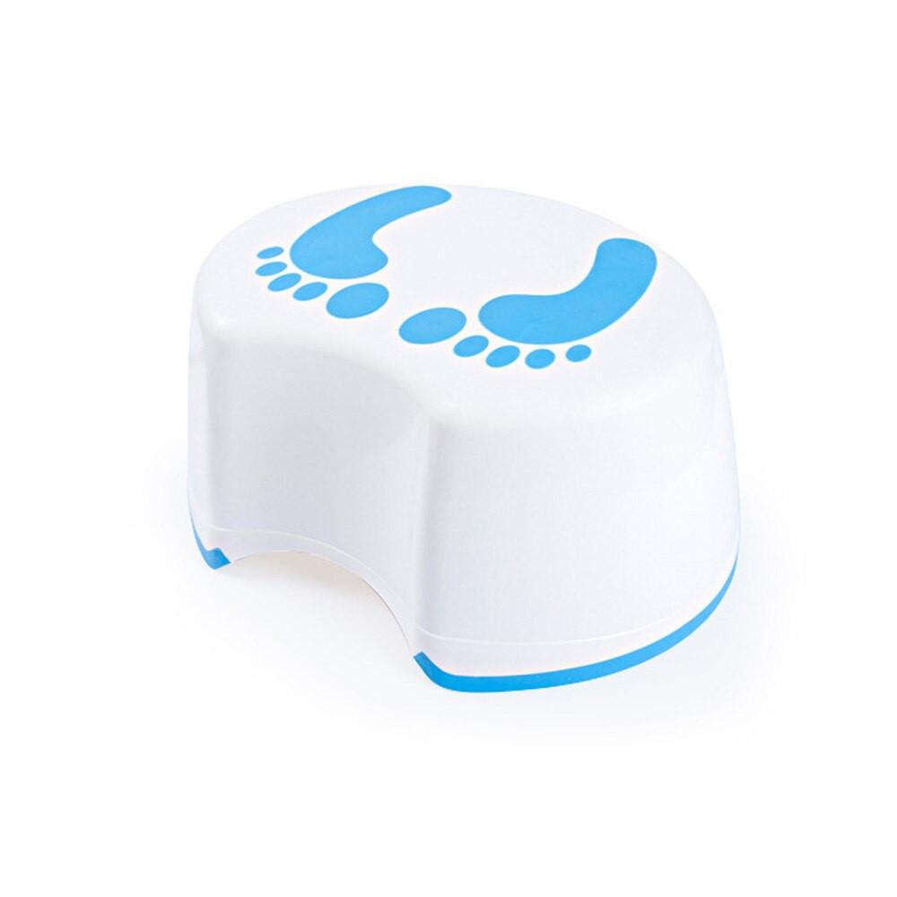 Kids Bathroom Stool  Cute Footprint Plastic Children s Stool Baby Step Stool