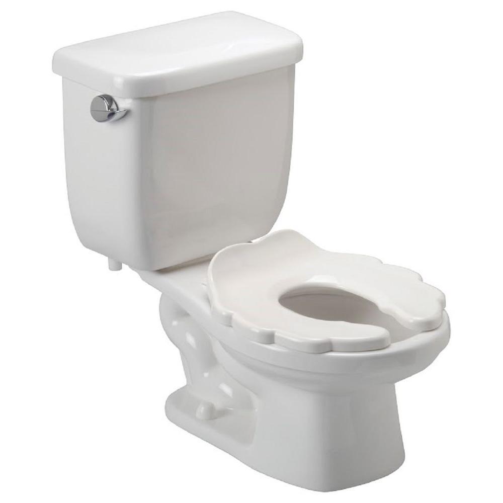 Kids Bathroom Stool  Zurn Childrens 2 piece 1 6 GPF Single Flush Elongated