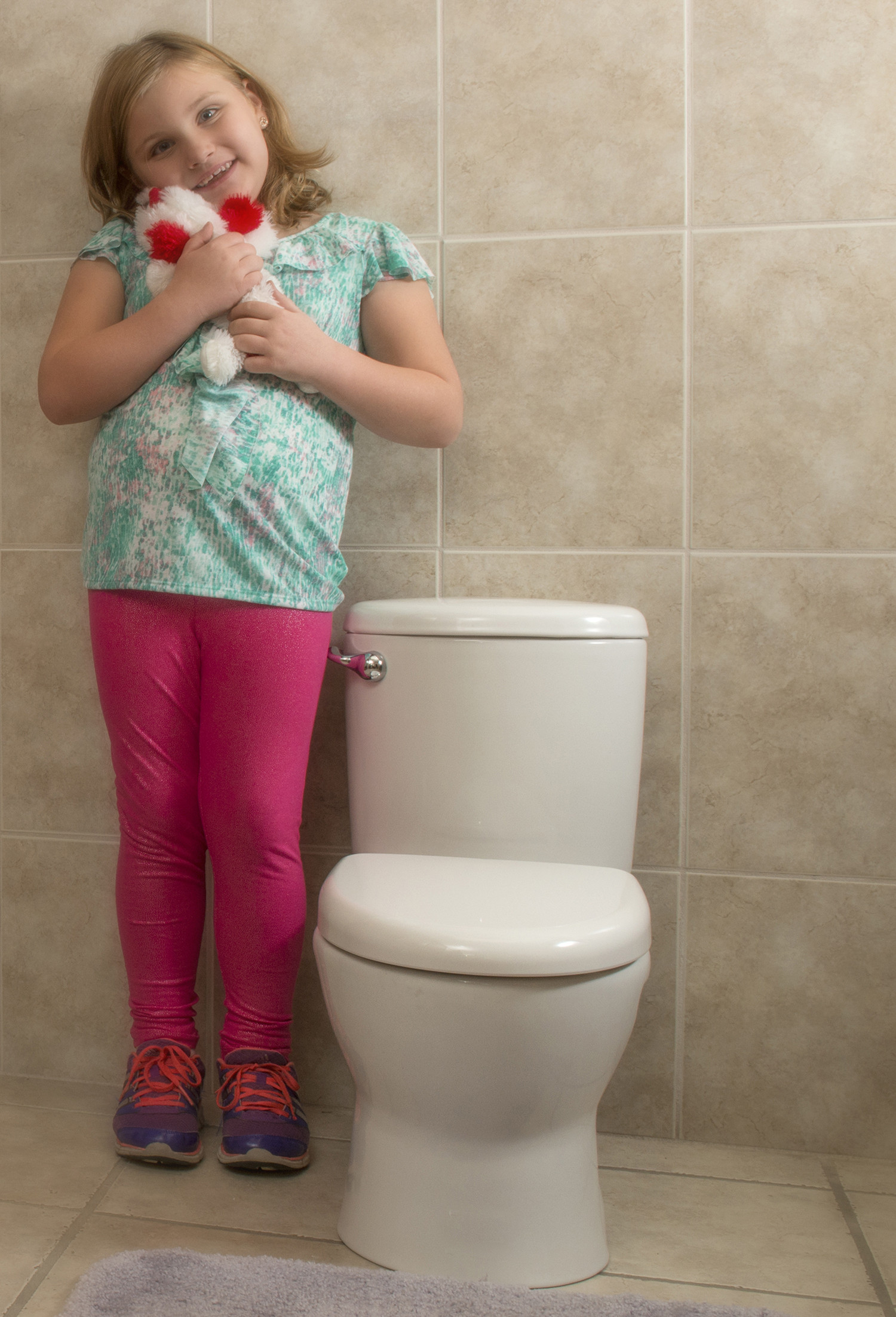 Kids Bathroom Stool  Child sized Toilet Big Hit with Parents
