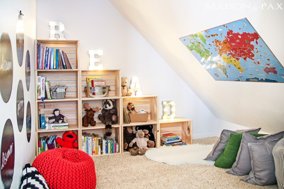 Kids Reading Room  Creating a Reading Space Maison de Pax