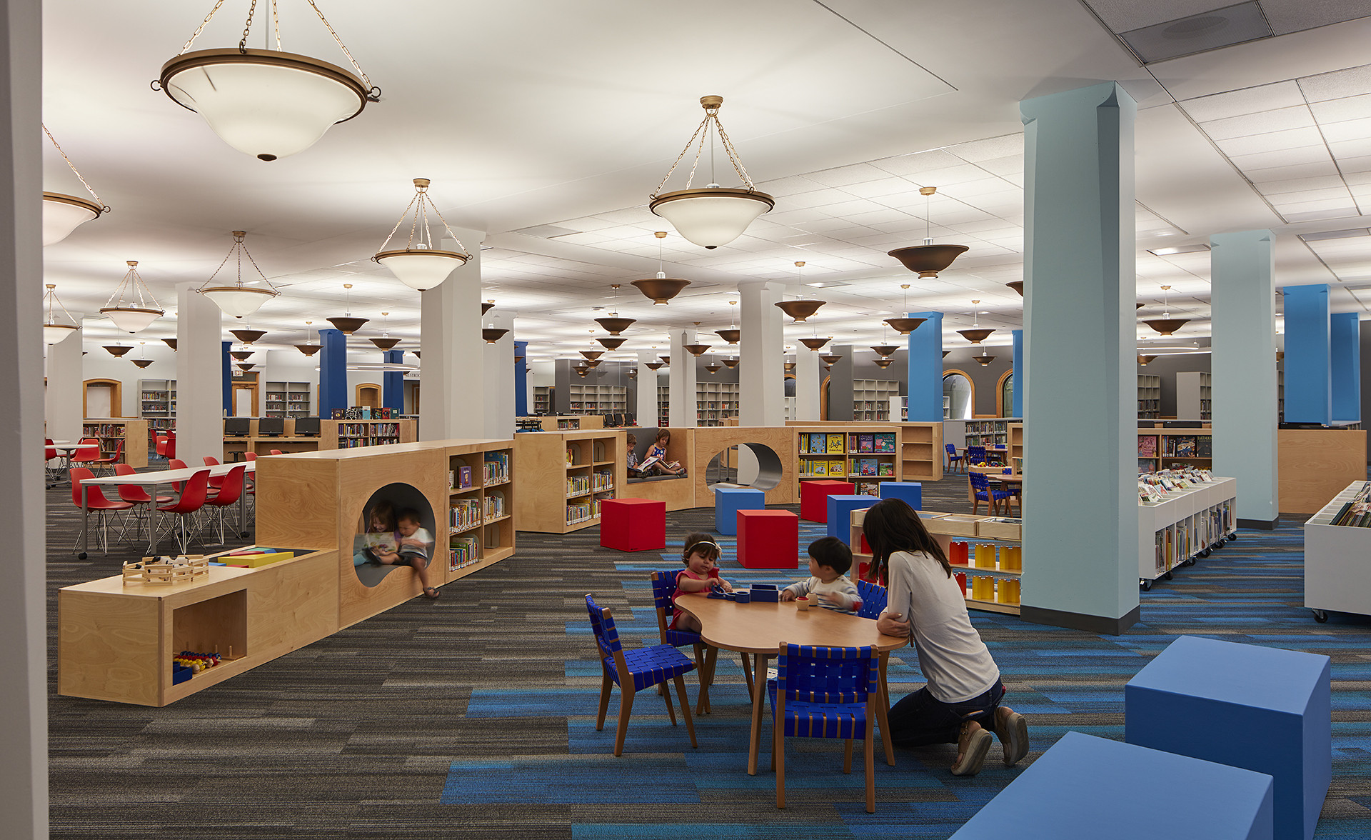 Kids Reading Room  Harold Washington Library just opened up an awesome new