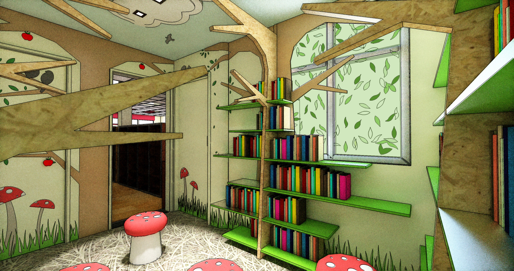 Kids Reading Room  Interior Design and Architecture News and Views