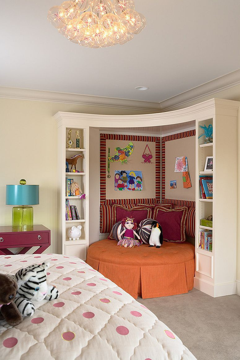 Kids Reading Room  7 Practical Ways to Make the Most of Corners in Kids' Room
