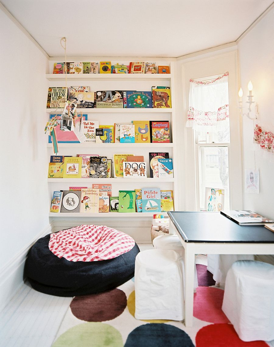 Kids Reading Room  Space Saving Book Shelves and Reading Rooms