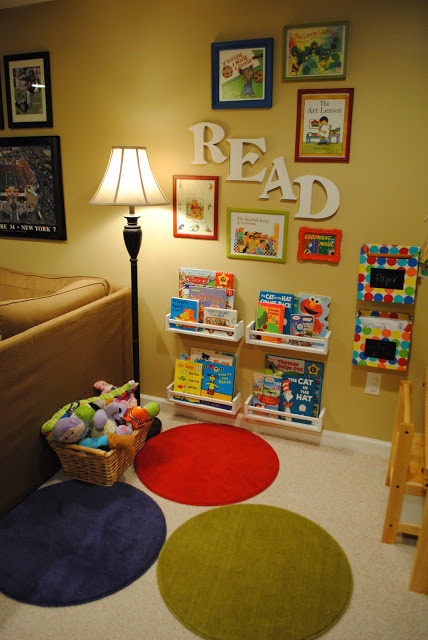 Kids Reading Room  It s a Long Story Dream House Kids Rooms