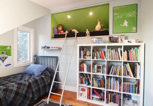Kids Reading Room  Sleep And Play 25 Amazing Loft Design Ideas For Kids