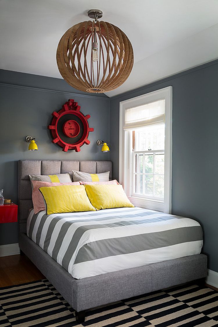 Kids Room Decor Boy  25 Cool Kids' Bedrooms that Charm with Gorgeous Gray
