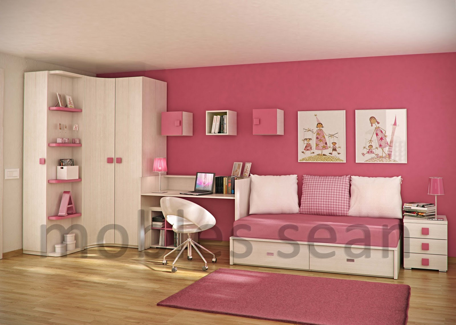 Kids Room Decor Ideas  Space Saving Designs for Small Kids Rooms