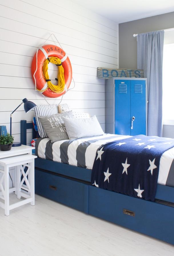 Kids Room Decor Ideas  Nautical Boy Room The Lilypad Cottage