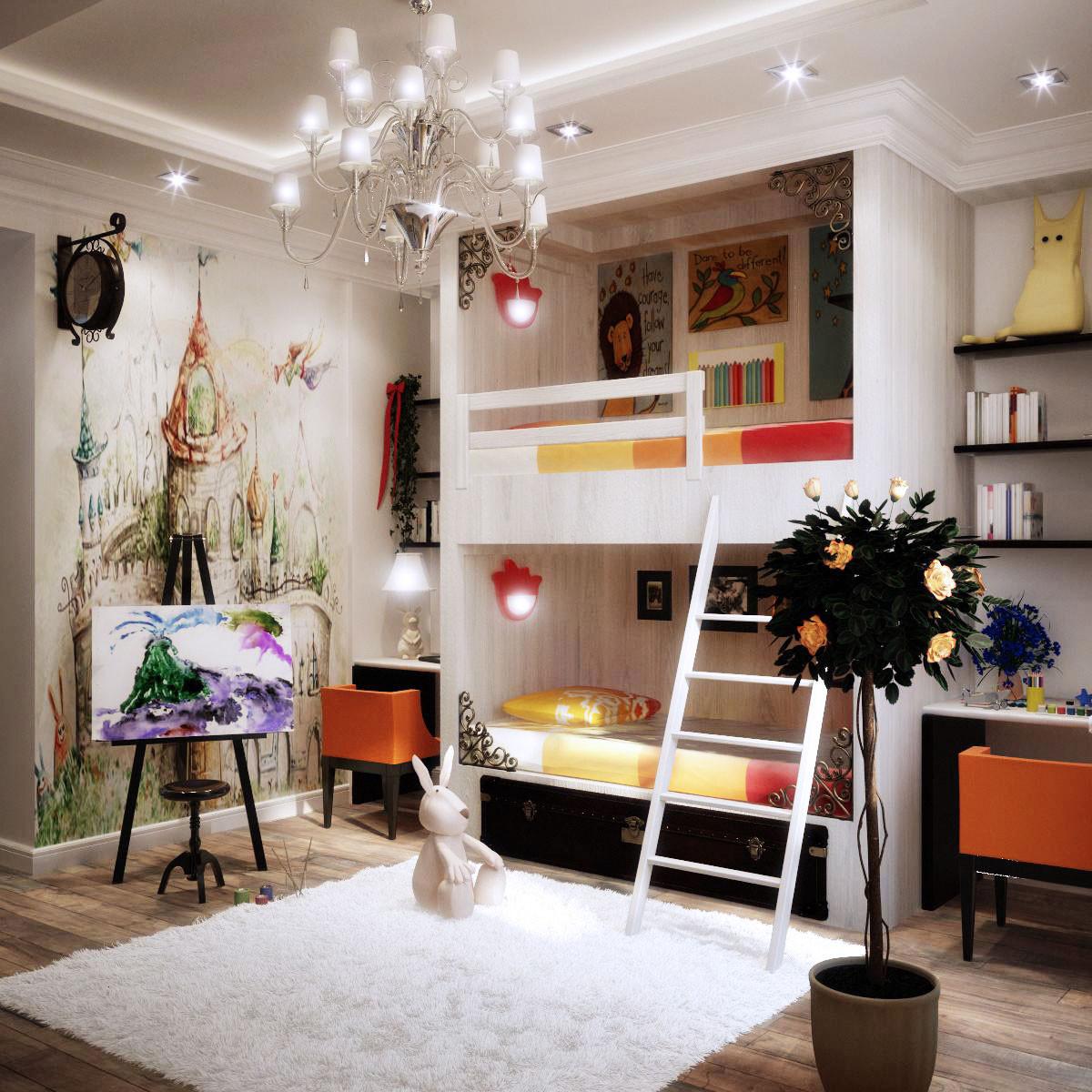 Kids Room Decor Ideas  Colorful Kids Rooms