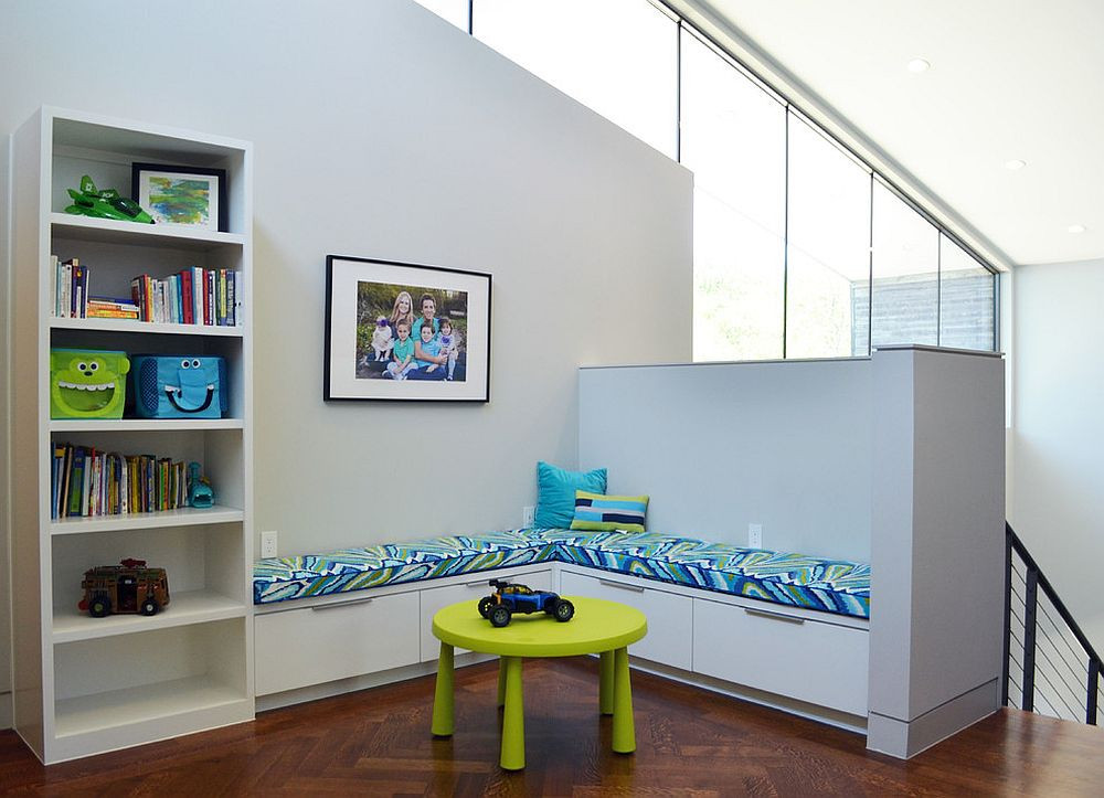 Kids Room Seating  7 Practical Ways to Make the Most of Corners in Kids' Room