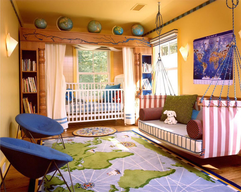 Kids Room Seating  Stylish Papasan Chair for Kids and Kid's Room – HomesFeed