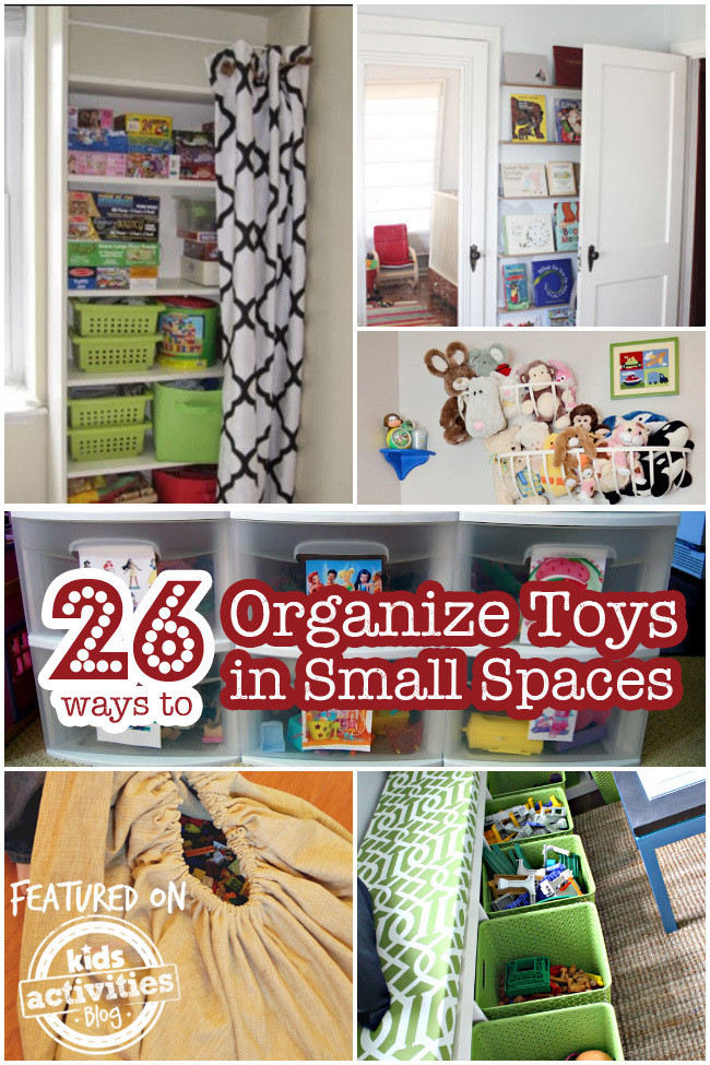 Kids Toy Organizing Ideas  26 Ways to Organize Toys in Small Spaces