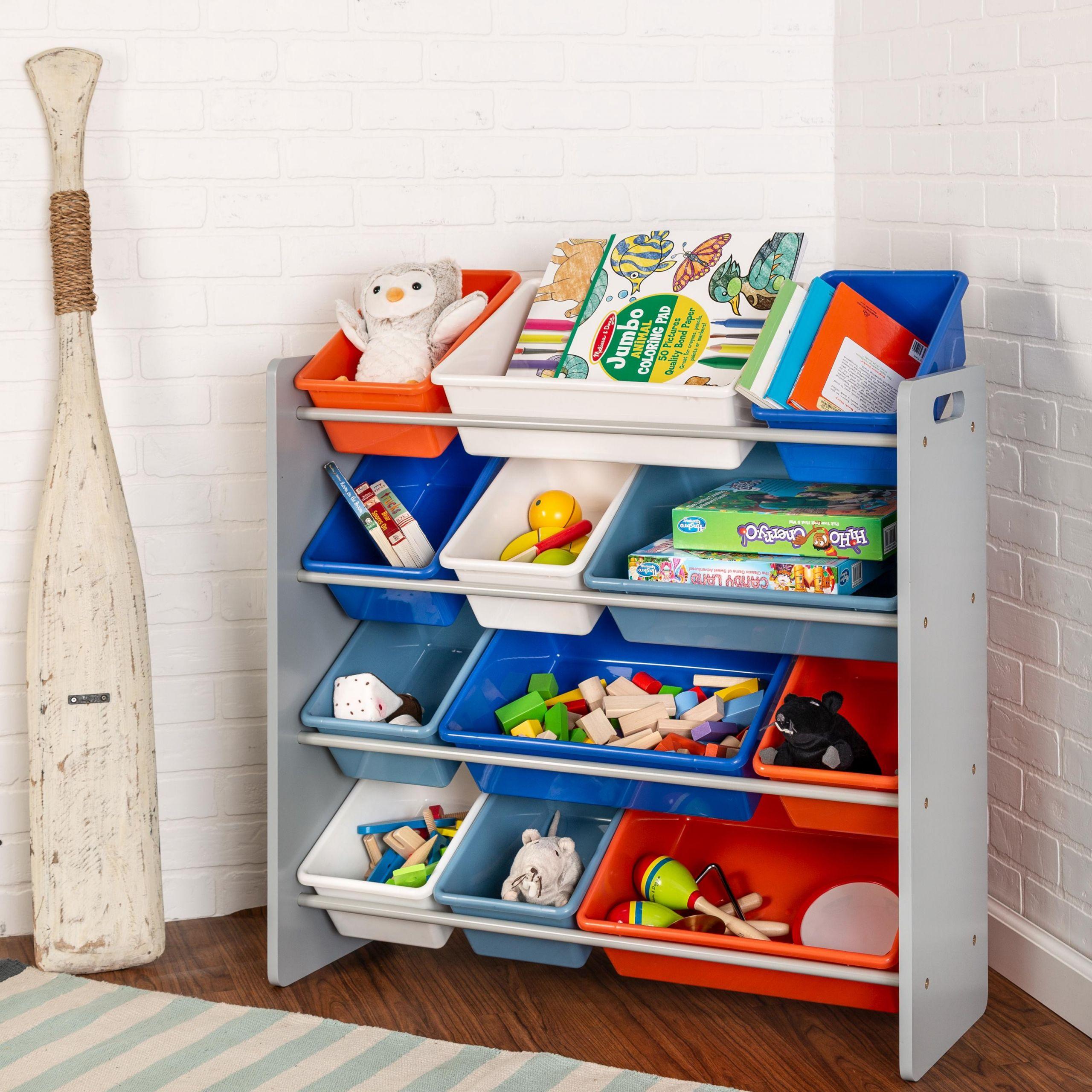 Kids Toys Storage  Amazon Honey Can Do SRT Kids Toy Organizer and
