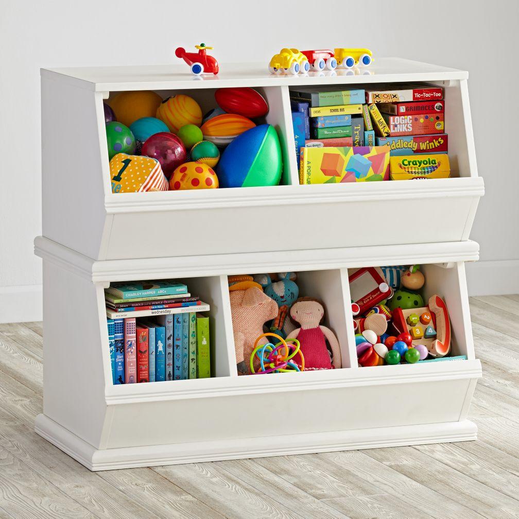 Kids Toys Storage  Storagepalooza Kids Stacking Toy Storage
