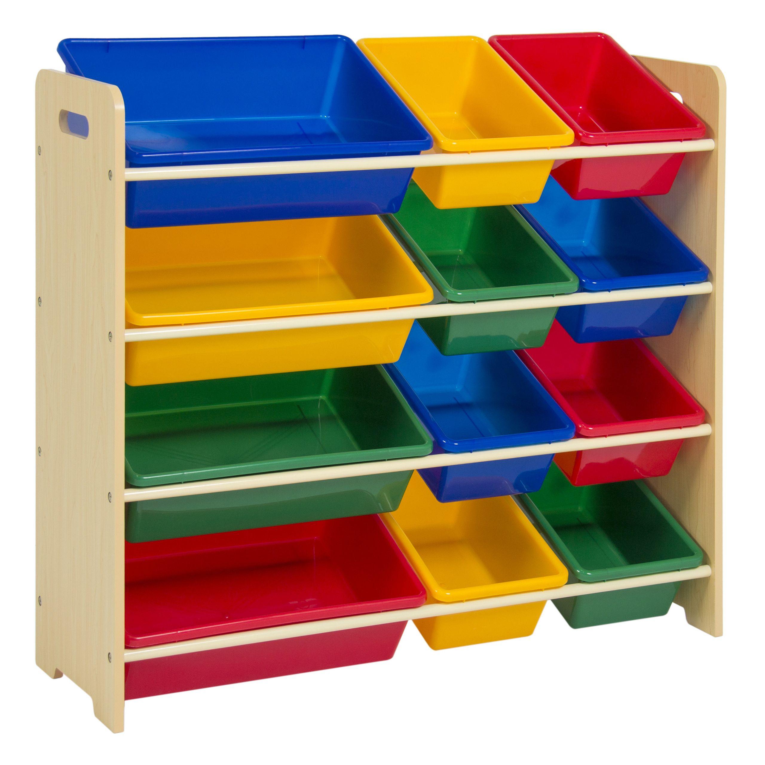 Kids Toys Storage  Toy Bin Organizer Kids Childrens Storage Box Playroom