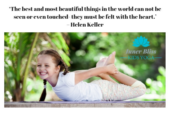Kids Yoga Quotes  Yoga can make your heart sing – Inner Bliss