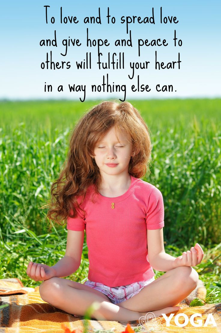Kids Yoga Quotes  18 best images about Kids Yoga on Pinterest