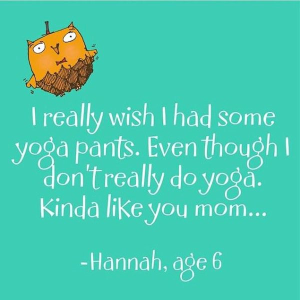 Kids Yoga Quotes  15 The Most Adorable Quotes By Kids From LittleHoots