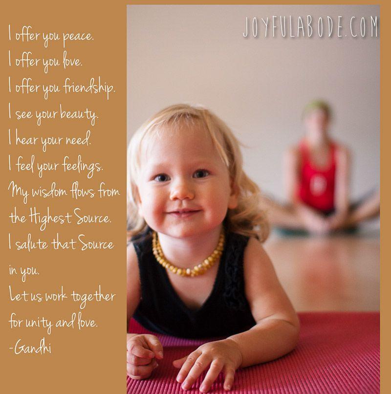Kids Yoga Quotes  Hanford CA Kids Activities Toddler Yoga Class