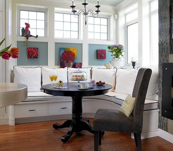 Kitchen Nooks With Storage  22 Stunning Breakfast Nook Furniture Ideas