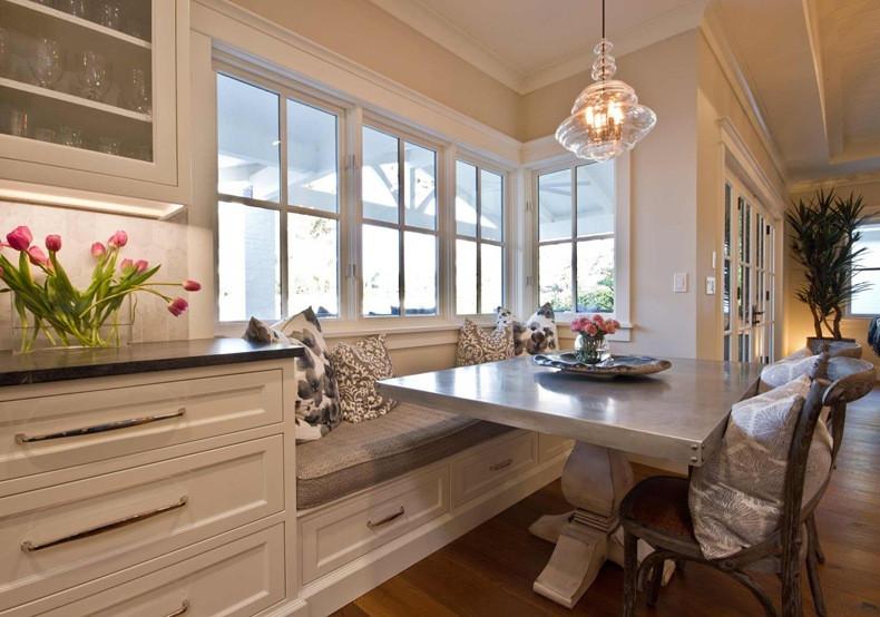Kitchen Nooks With Storage  Custom Breakfast Nook Set Ideas