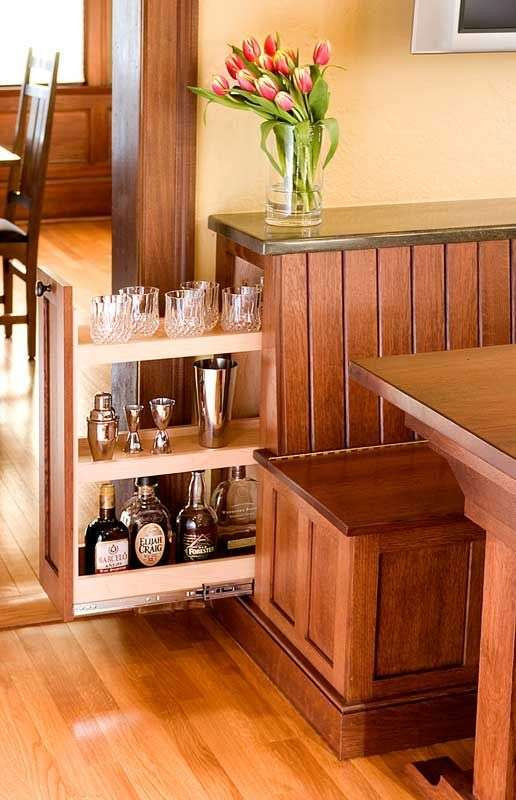 Kitchen Nooks With Storage  Here are seven small breakfast nook layout ideas that will