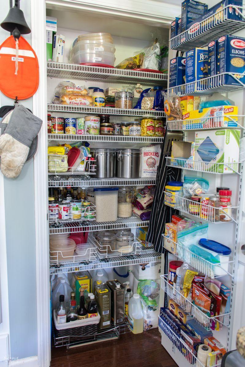 Kitchen Pantry Organizers Ideas  21 Small Kitchen Pantry Organization Ideas To Really Save