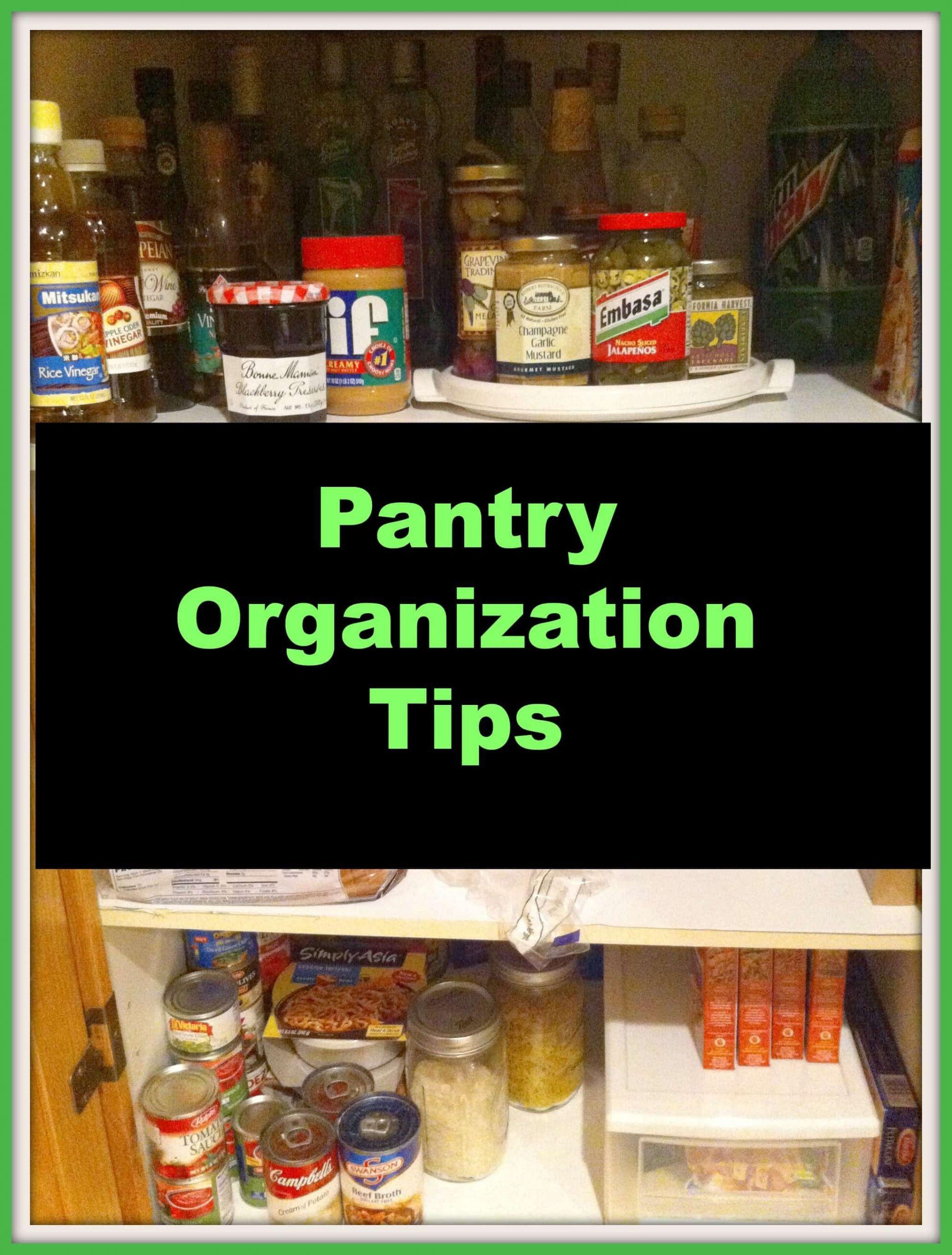 Kitchen Pantry Organizers Ideas  Kitchen Pantry Organization