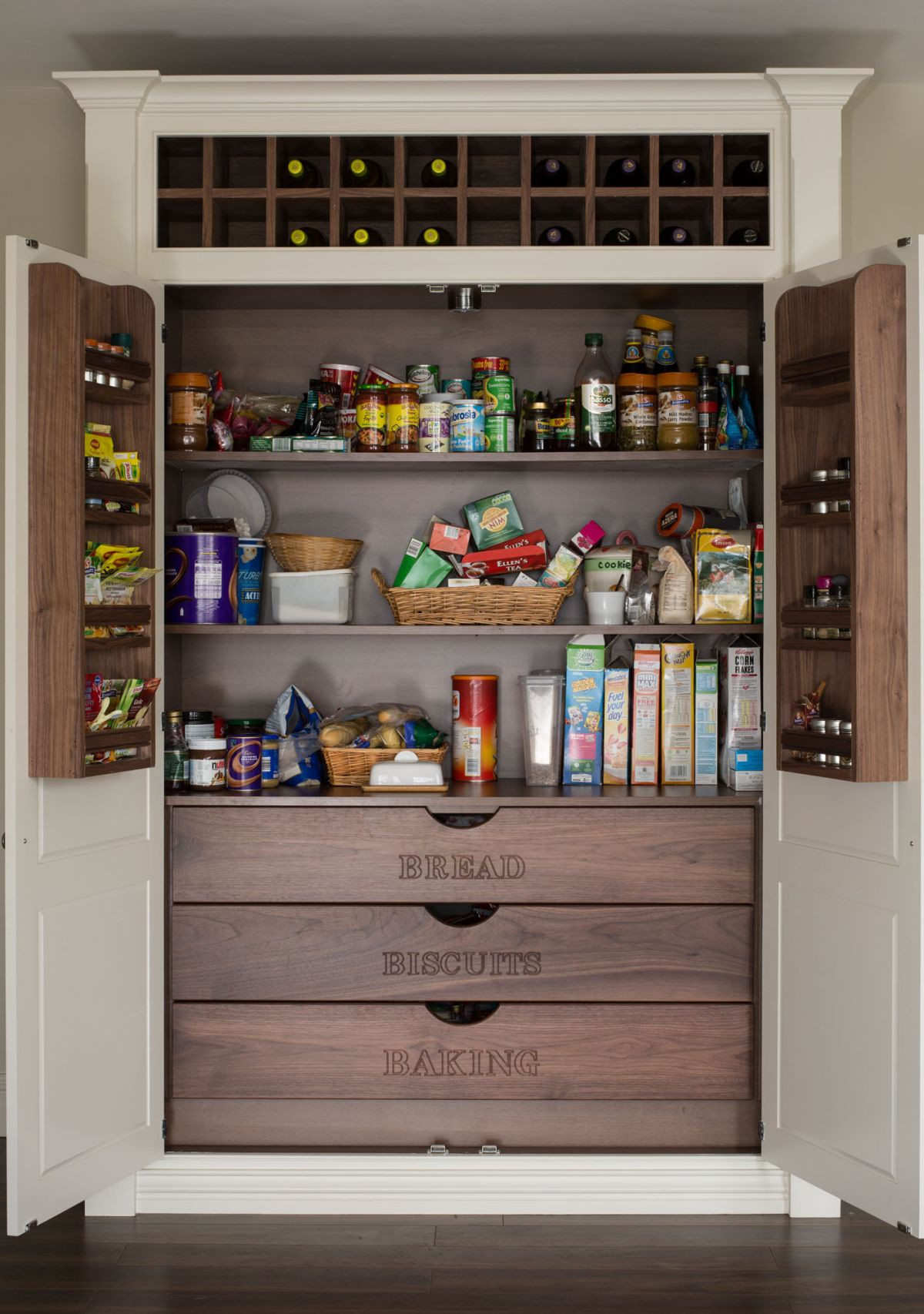 Kitchen Pantry Organizers Ideas  15 Kitchen Pantry Ideas With Form And Function