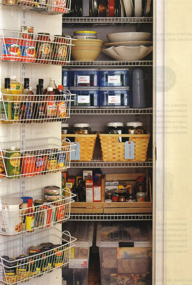 Kitchen Pantry Organizers Ideas  Organized Kitchen Pantry All Things G&D