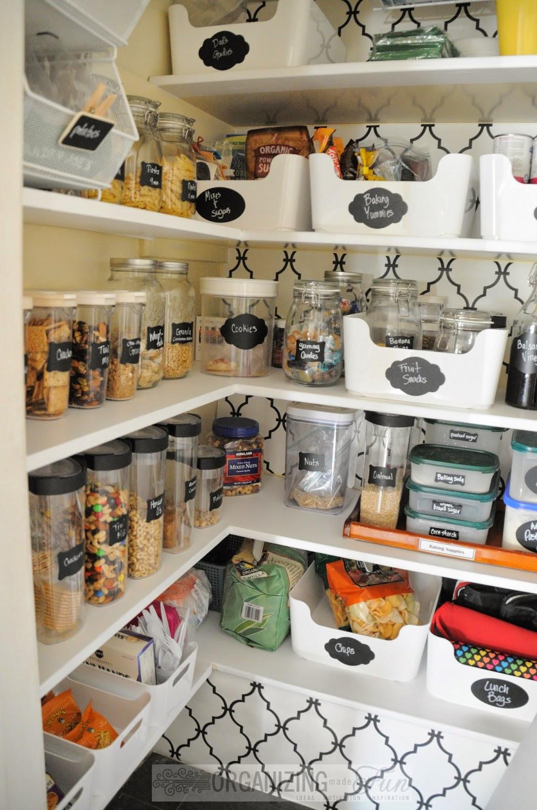 Kitchen Pantry Organizers Ideas  Pantry Organization Inspiration Organizing Made Fun