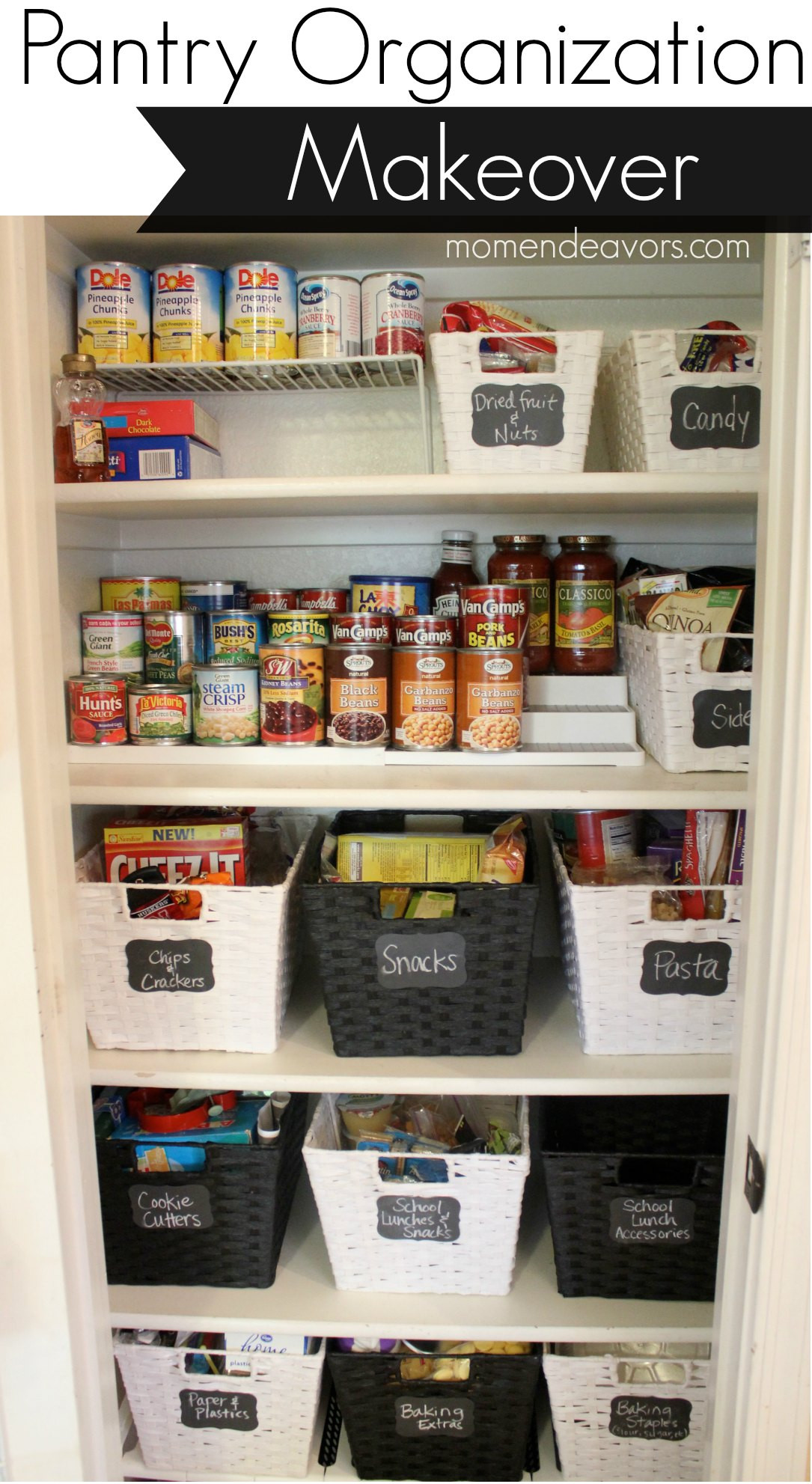 Kitchen Pantry Organizers Ideas  20 Incredible Small Pantry Organization Ideas and