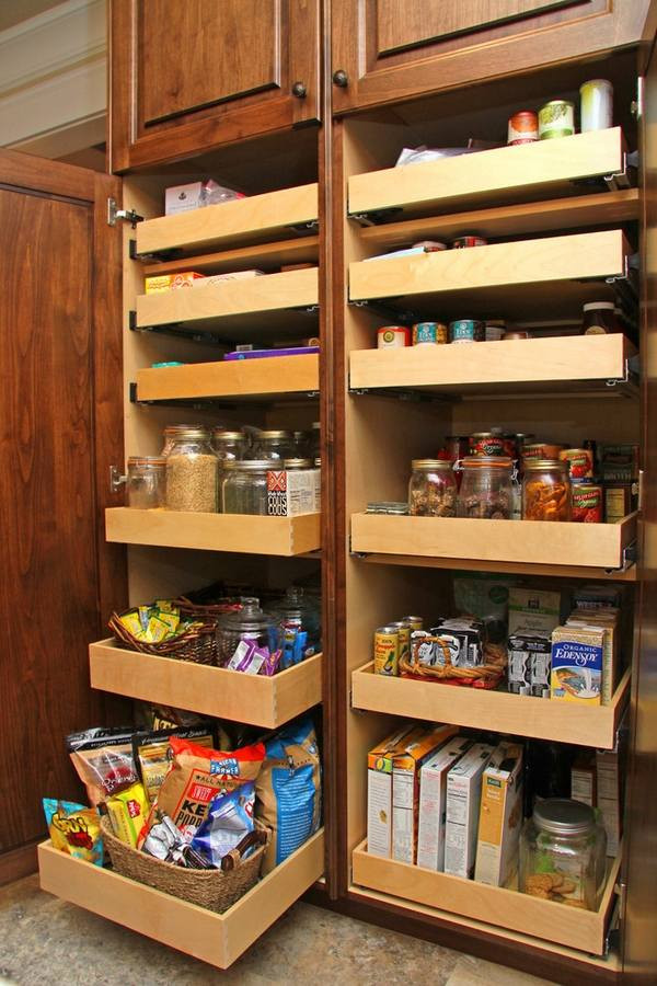 Kitchen Pantry Organizers Ideas  30 Kitchen pantry cabinet ideas for a well organized kitchen