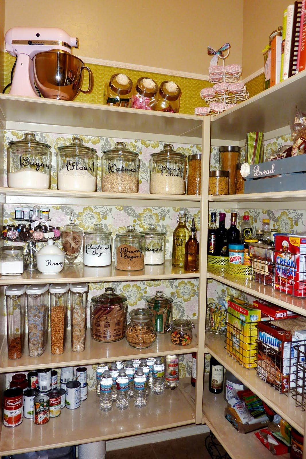 Kitchen Pantry Organizers Ideas  14 Inspirational Kitchen Pantry Makeovers
