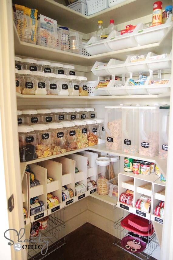Kitchen Pantry Organizers Ideas  10 Bud Friendly & Creative Kitchen Organization Ideas