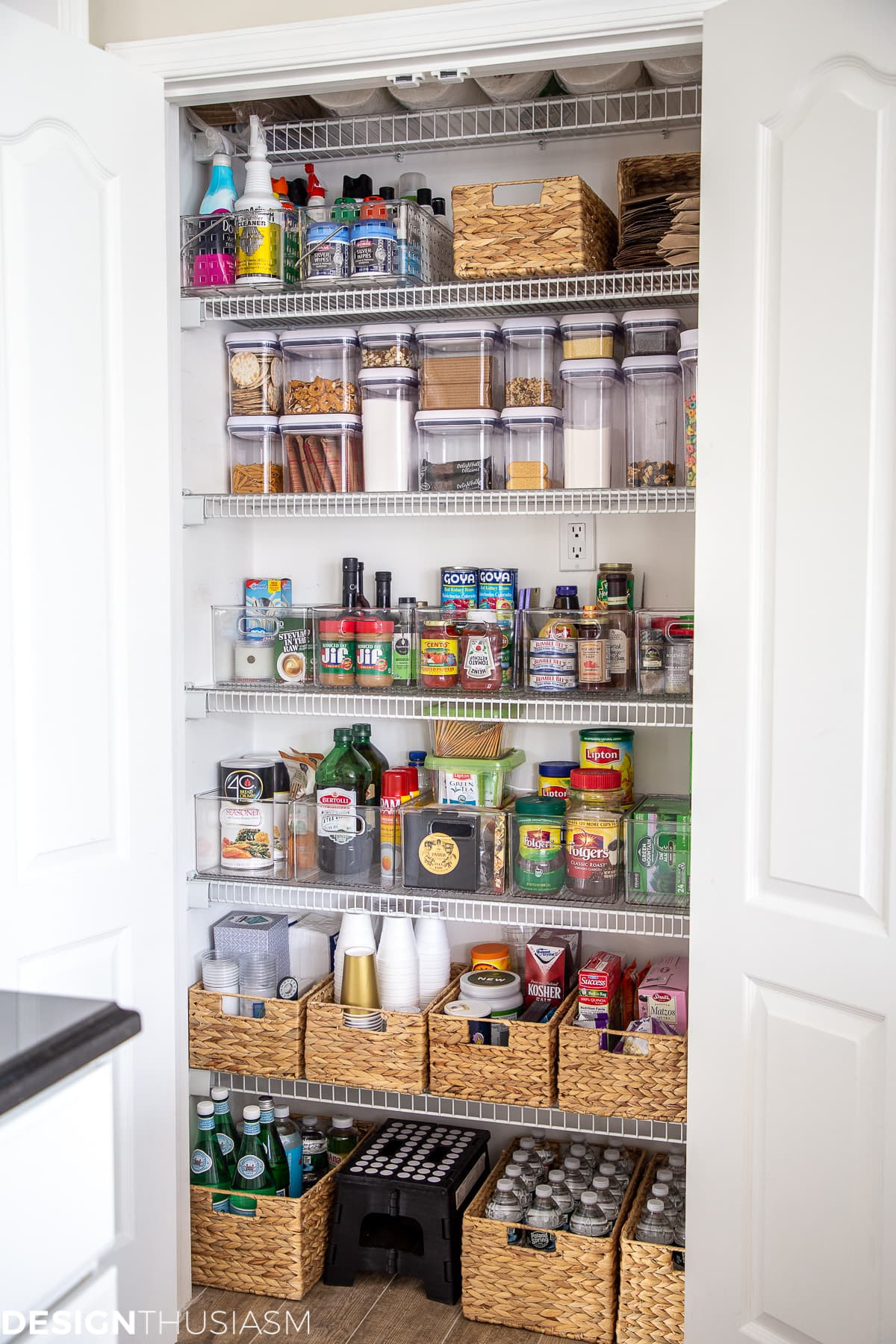 Kitchen Pantry Organizers Ideas  Kitchen Pantry Organization Ideas Simple and Easy to Maintain