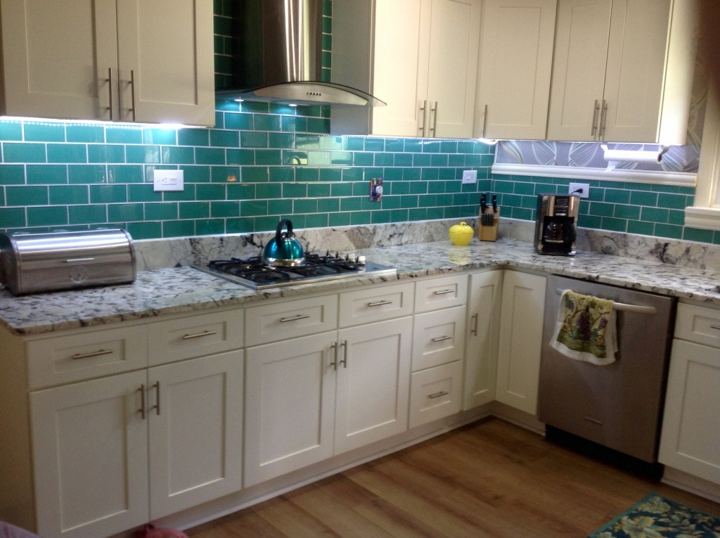 Kitchen Peel And Stick Backsplash  10 Peel and Stick Kitchen Backsplash Ideas 2020 Cheap e